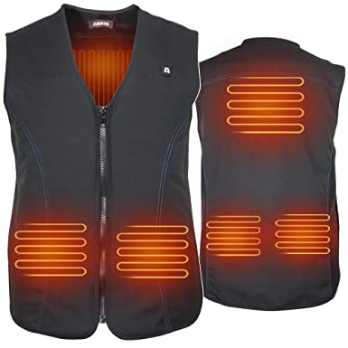 Heated Hunting Clothes >> Arris Usb Electric Heated Vest 5v Size Adjustable Rechargeable