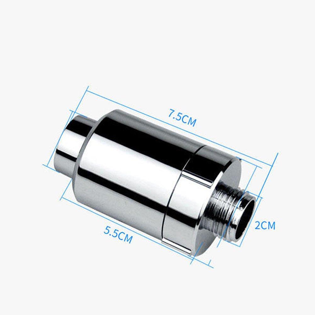 anti-batteri zolfo e altre sostanze nocive depuratore filtro soffione a Lionina High output universale cartuccia filtro doccia ioni negativi depuratore d acqua filtro al carbone attivo
