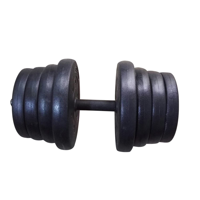 Juego de mancuernas Multiware, para entrenamiento en gimnasio o en casa, 50kg, talla única: Amazon.es: Deportes y aire libre
