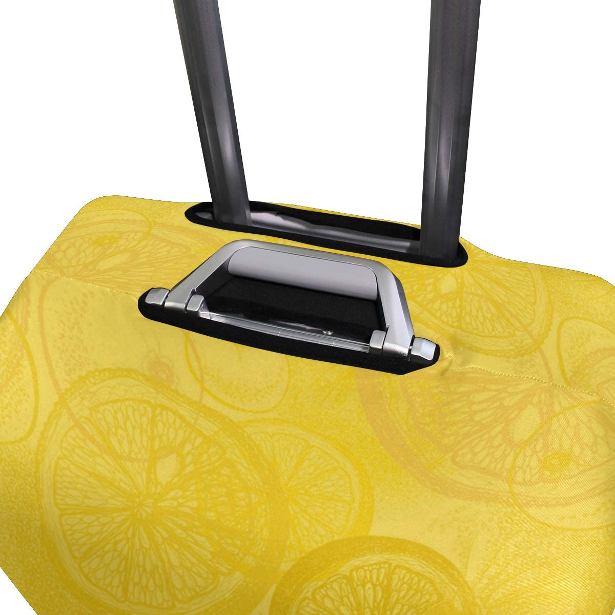 Delicious Orange Juice Lemon Drink Travel Luggage Protector Case Suitcase Protector For Man/&Woman Fits 18-32 Inch Luggage