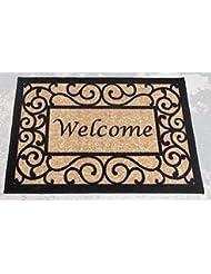 Ottomanson Ottohome Collection Rectangular Welcome Doormat (M...