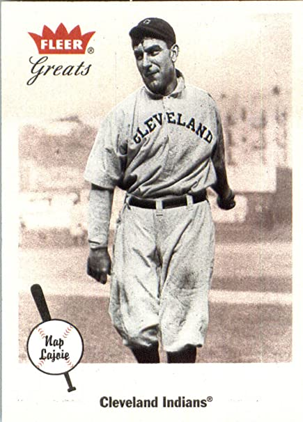 2002 Fleer Greats Of The Game Baseball Card 81 Nap Lajoie