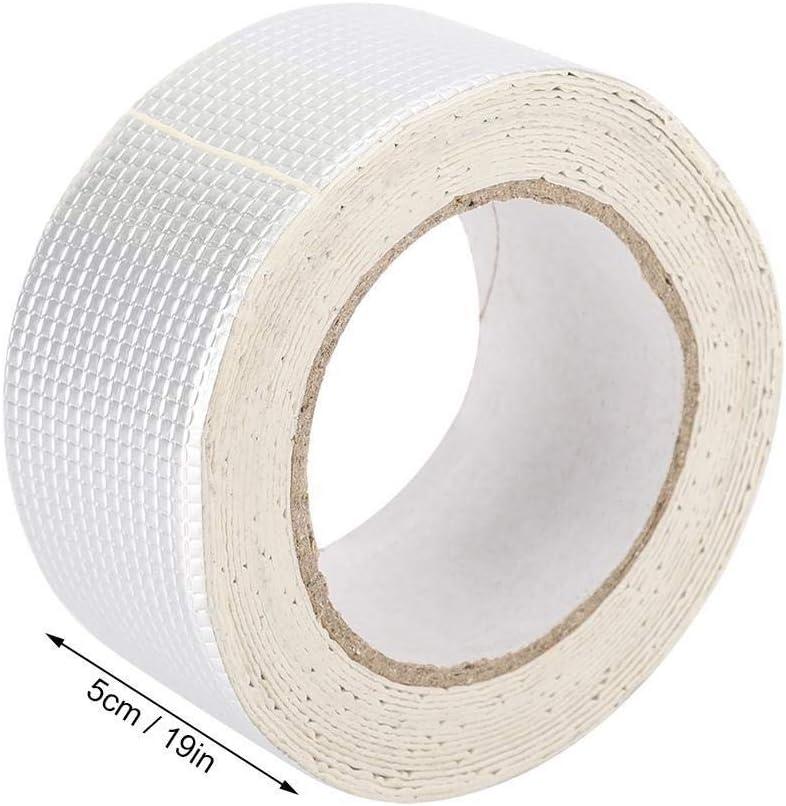 Maxmartt Multifunctional Butyl Rubber Waterproof Adhesive Tape for Roof Drain-pipe Repair 5cm