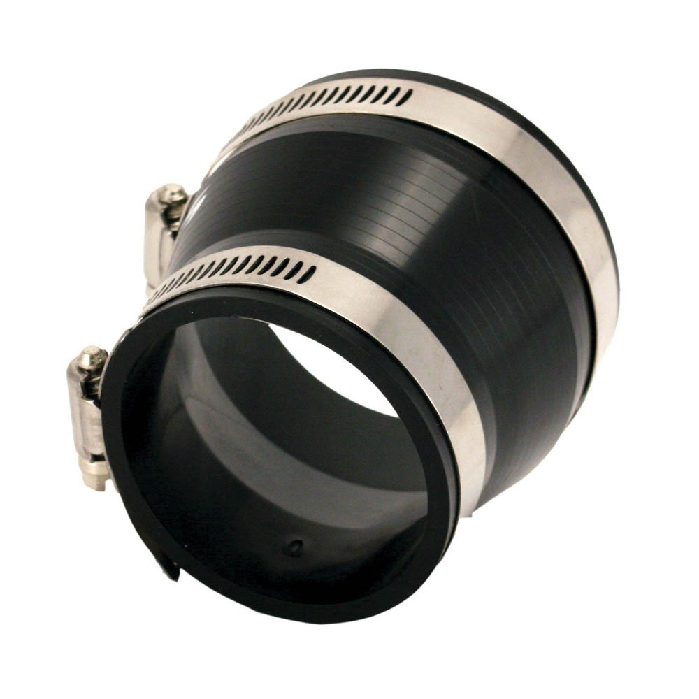 Spectre Performance 8751 Black 3-2-1//2 Intake Tube Coupler