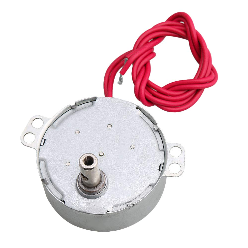 CNBTR AC 12V 5-6RPM Synchronous Rotary Motor CW/CCW Direction Turntable Motor Fan Air Conditioner DIY Accessory yqltd
