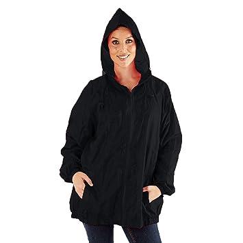 Pro Climate Womens Waterproof Jacket Kag In A Bag Wind Resistant ... 06044cbf9