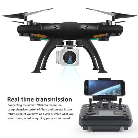 RC Mini Drone, Helicóptero RC Quadcopter [selfie plegable WiFi FPV ...