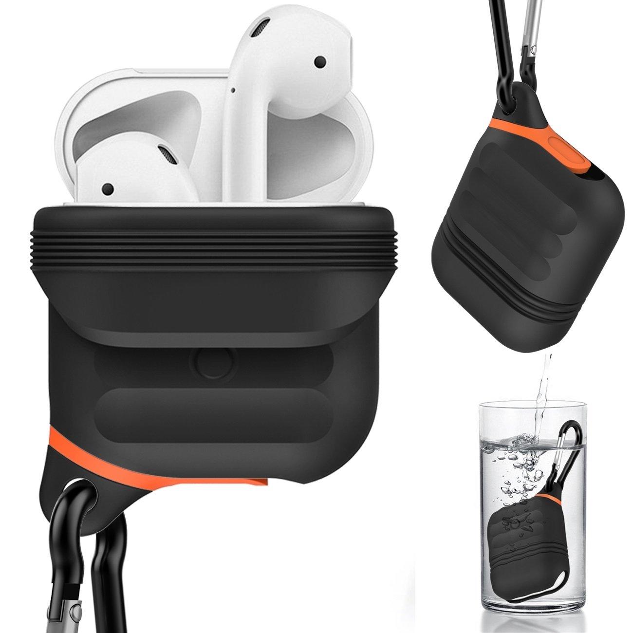 Greatfine para Apple Airpods Bolsa de Funda Blanda de Silicona Prueba de Agua Caso Cubierta Suave de TPU Ultra Delgada Protector para Airpods Headphones ...