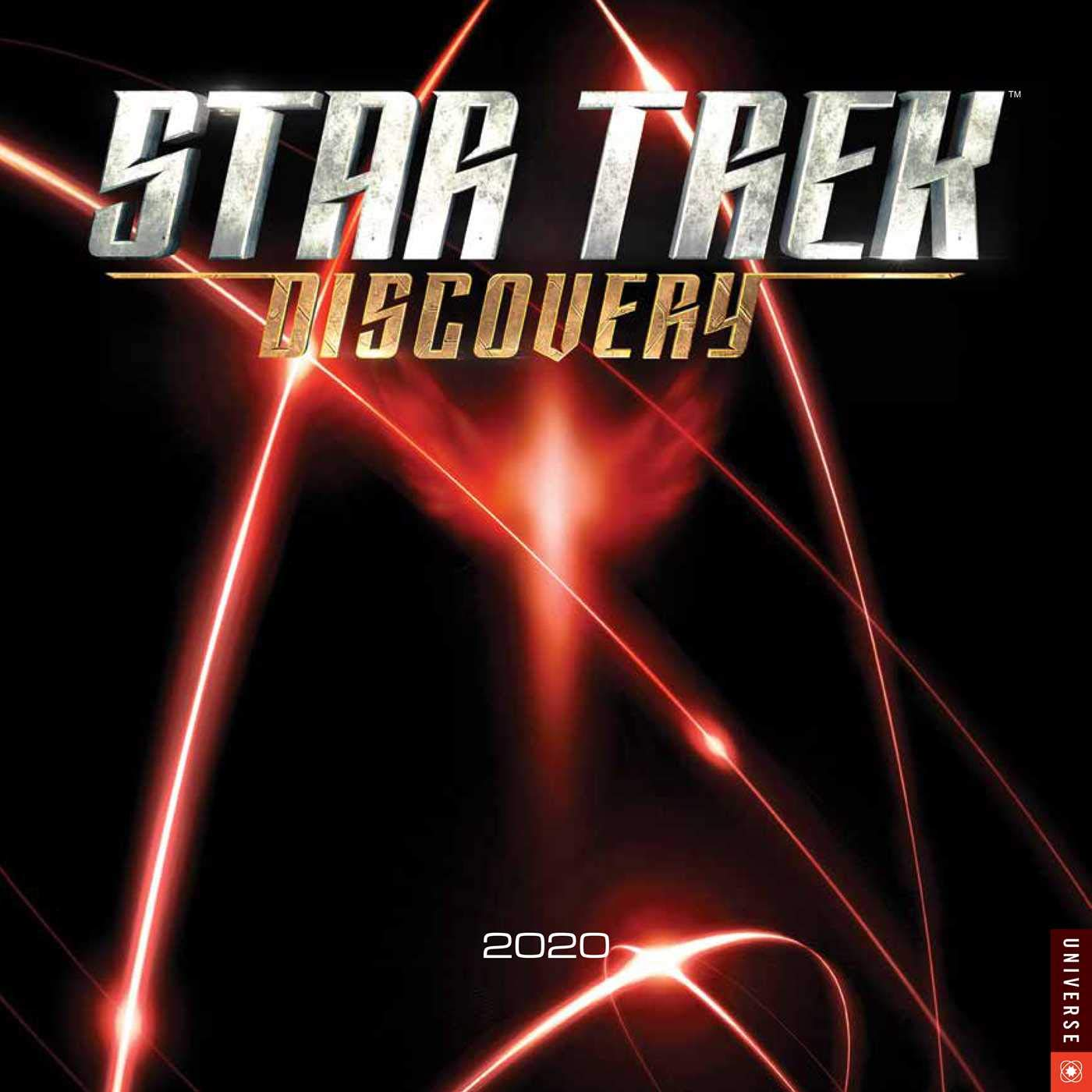 Star Trek Discovery 2020 Wall Calendar by Universe Publishing
