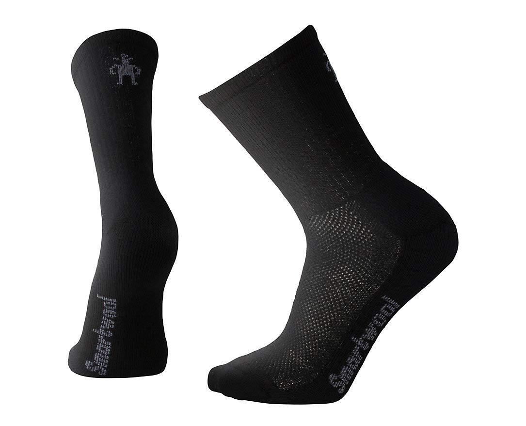 SmartWool Men's Hike Ultra Light Crew Socks (Black) X-Large by SmartWool