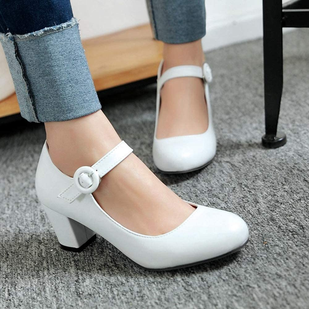 Fay Waters Womens Mary Jane Shoes Round Toe Elastic Band Ballet Flats Casual Slip on Dance Shoes