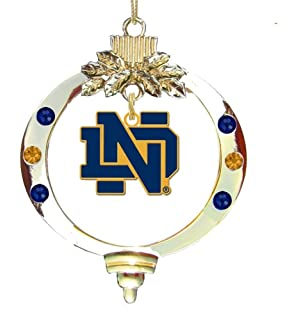 Amazon.com: University of Notre Dame - Chirstmas Holiday Stocking ...