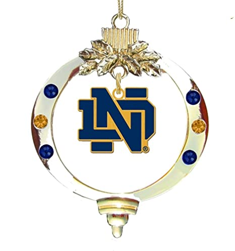 Notre Dame Gold ND Ornament - Amazon.com : Notre Dame Gold ND Ornament : Sports & Outdoors