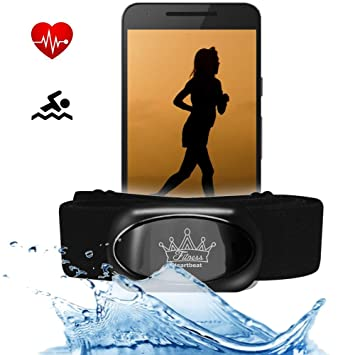 Berryking Heartbeat 2 Bluetooth 4.0 Heart Rate Monitor y ANT + ...