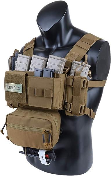 VIPER Special Ops Chest Rig con RIVISTA BUSTE Airsoft Giubbotto Antiproiettile Esercito