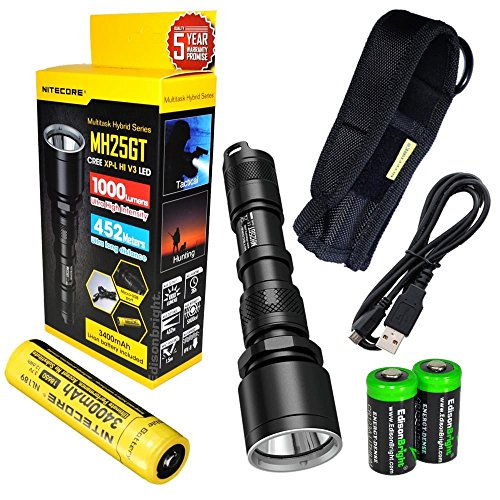 Rechargeable Flashlight rechargeable EdisonBright Batteries product image