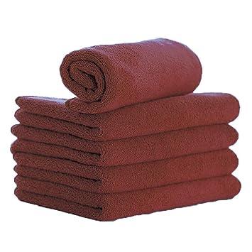 ZYTC toallas de microfibra para lavar el coche, para limpiar el secado, color azul, 30,48 cm x 71 cm. Paquete de 5 unidades.: Amazon.es: Coche y moto