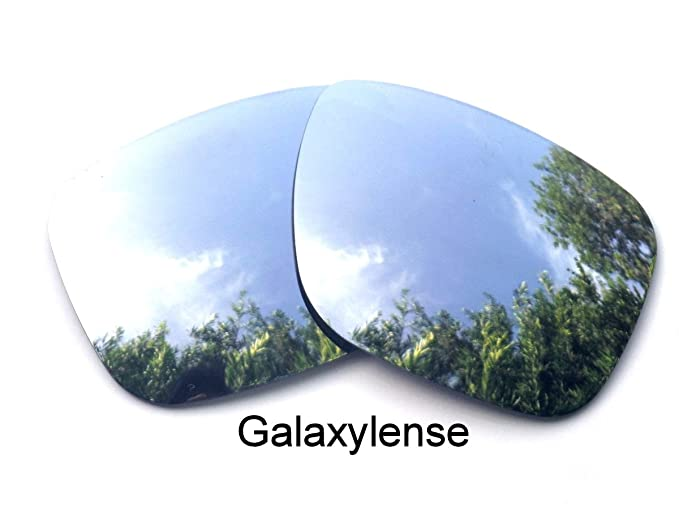 b57ad646c6 Amazon.com  Galaxy Replacement Lenses for Oakley Holbrook Titanium Color  Polarized  Clothing