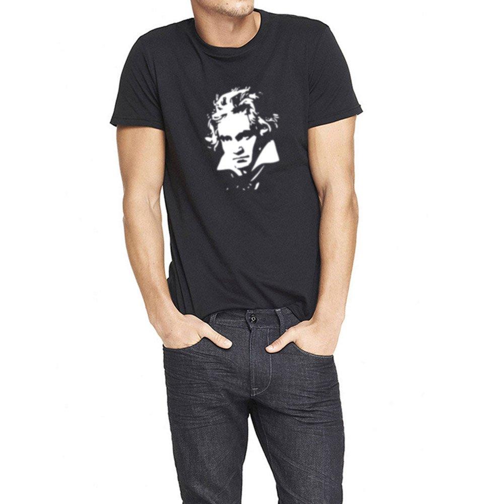 Loo Show S Ludvig Van Beethoven Casual T Shirts Tee