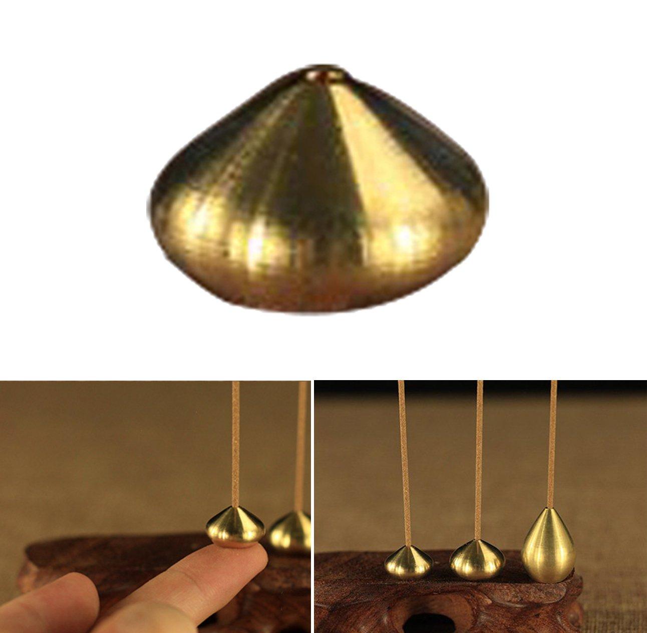 Chytaii Censers Incense Burner Incense Stick Holder Copper Censer for Incense Stick L