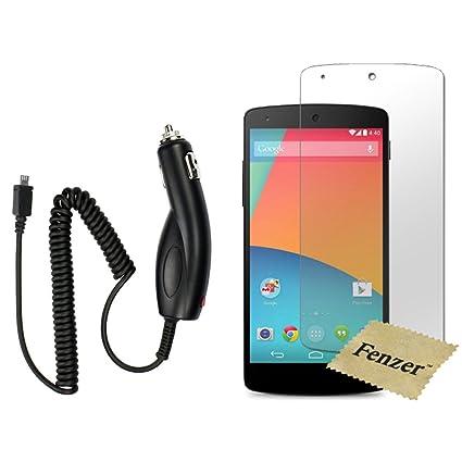 Amazon.com: Fenzer - Cargador de coche para Google Nexus 5 ...