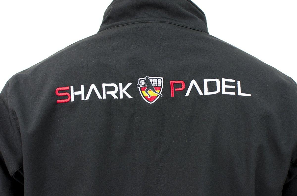 Shark Padel Chaqueta Softshell Negra: Amazon.es: Deportes y aire libre