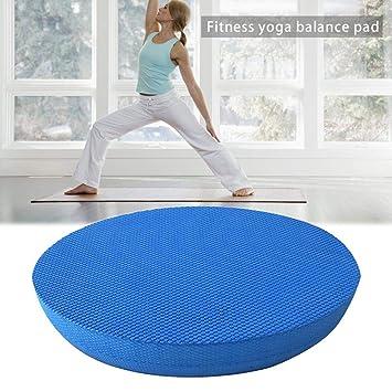 Lembeauty Almohadilla de Equilibrio de Yoga Ovalada, Cojín ...