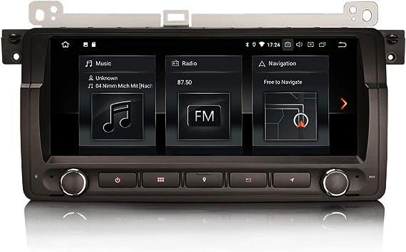 ERISIN 8.8 Pulgadas Android 10.0 Autoradio para BMW Serie 3 ...
