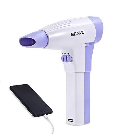 Secador de pelo inalámbrico, secador de pelo profesional para niños y secador de pelo con batería de litio y difusor: Amazon.es: Belleza