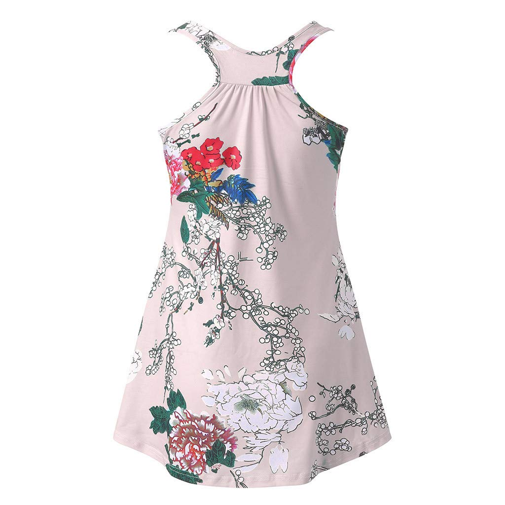 GUCIStyle Camiseta De Mujer Maternidad Sin Mangas con Estampado De Hojas Enfermer/íA Amamantar Premam/á Lactancia Blusa