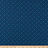 Andover Royal Blue Lace Agean Fabric