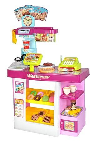 ISO TRADE Supermercado Tienda Niños Juego 30 Piezas Caja EC ...