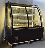 INTBUYING Commercial Display Case 220V Refrigerator Cake Showcase Bakery Cabinet 47 Inch