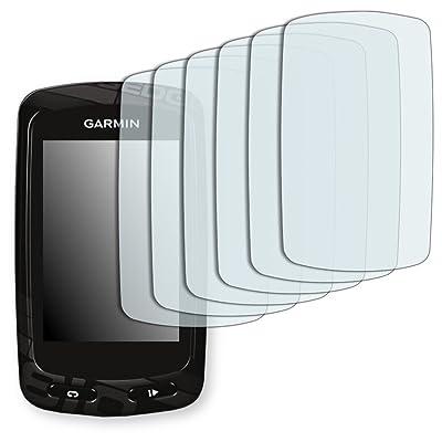 6x Golebo Semi-Matt protectores de pantalla para Garmin Edge 810 - (efecto antirreflectante, montaje muy fácil, removible sin residuos)