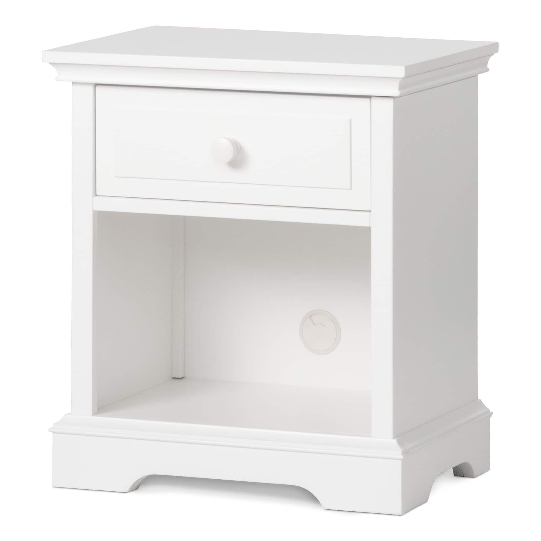 Child Craft Universal Select Night Stand, Matte White by Childcraft