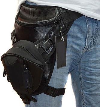 Viajes para Motocicleta Bolsa Impermeable para la Cintura de la Pierna t/áctica Ciclismo al Aire Libre Xieben Paquete de Muslos para Hombres y Mujeres Militar