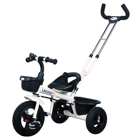 DACHUI Carritos de bebé, niños triciclos, bicicletas, coches de bebé, bicicletas (