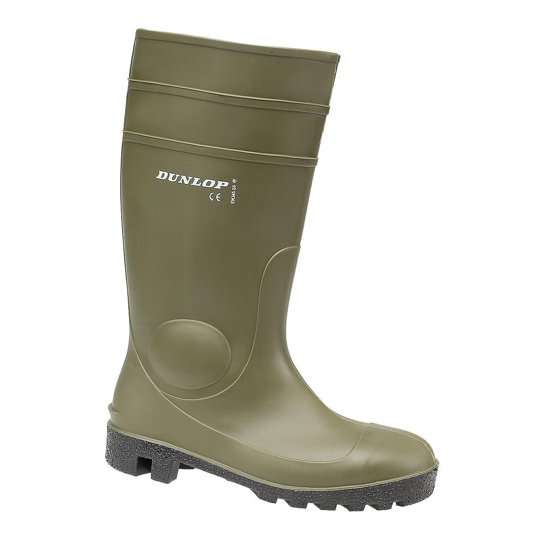Dunlop Unisex FS1700/142VP Wellington Boot / Mens Womens Boots (7.5 US) (Green)