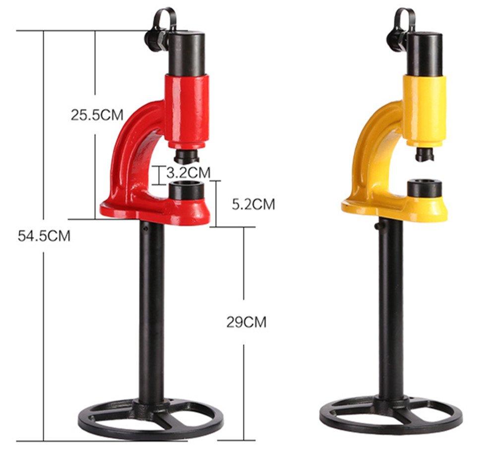 CGOLDENWALL SYD-35油圧パンチャー 鉄板アルミ板ステンレス製水槽ブリッジラックの穴あけ油圧パンチ   (SYD-35) B075FQQ7PC SYD-35