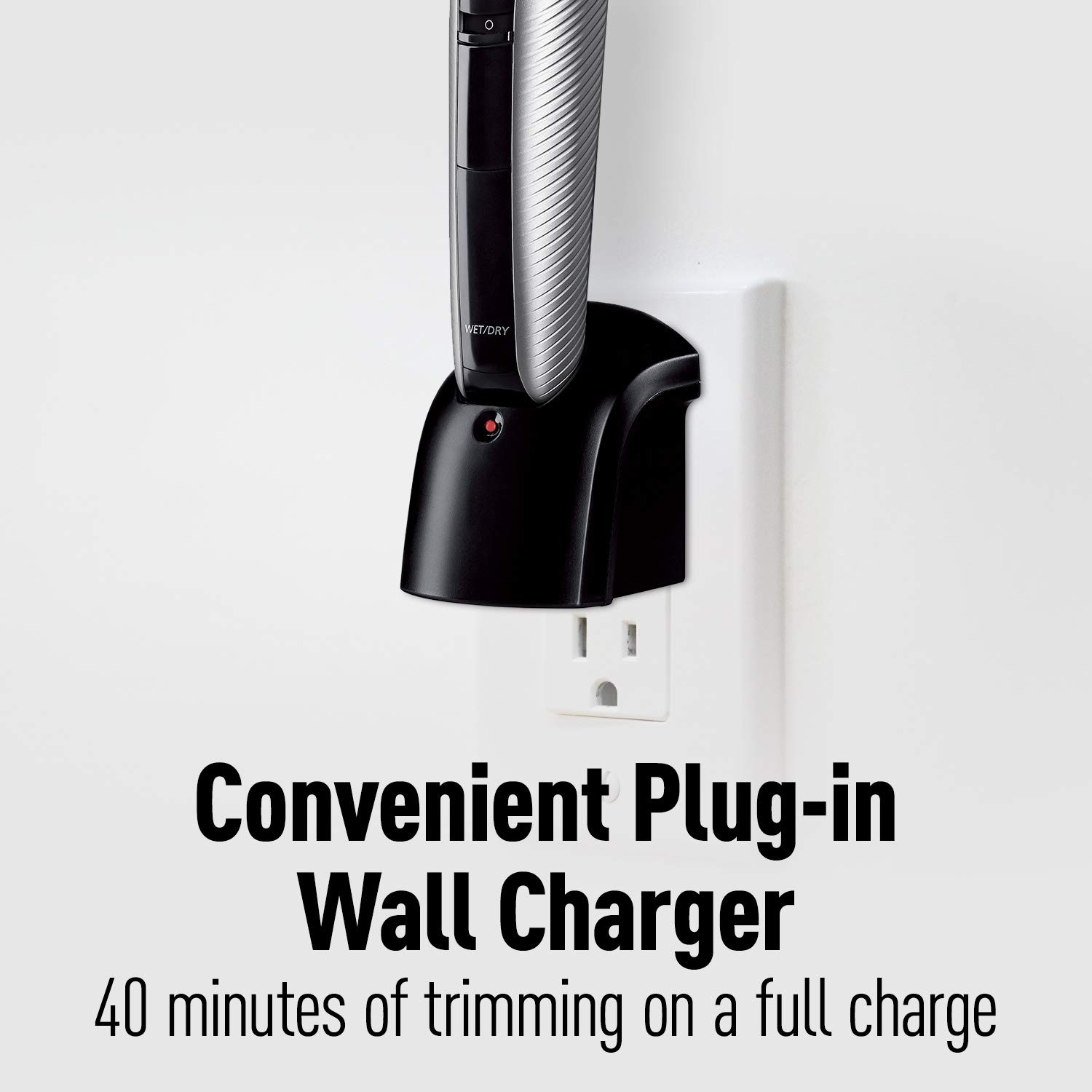 Panasonic Cordless Electric Body Hair Trimmer with Waterproof Design, ER-GK60-S by Panasonic (Image #6)