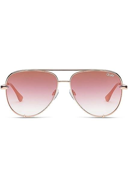 d1e45c15cfe Amazon.com  Quay Australia x Desi Perkins Women s High Key Rose Copper Fade  One Size  Sports   Outdoors