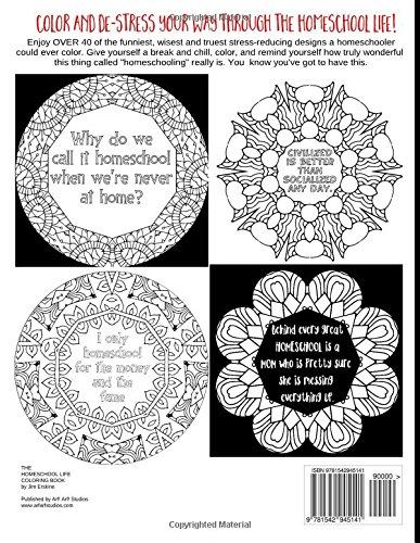 The Homeschool Life Coloring Book: Jim Erskine: 9781542945141 ...