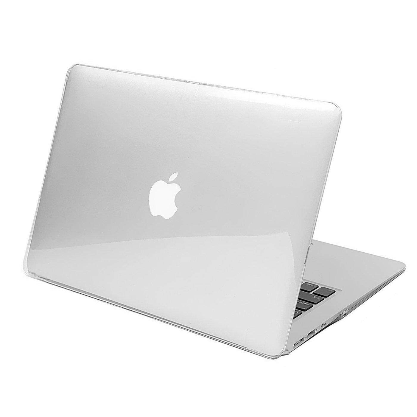 White Color Macbook Air 13 Inch Case, Pasonomi Rubberized Hard Case For  Apple Macbook Air 13 And 13 3 Inch (a1466 & A1369) Shell Cover