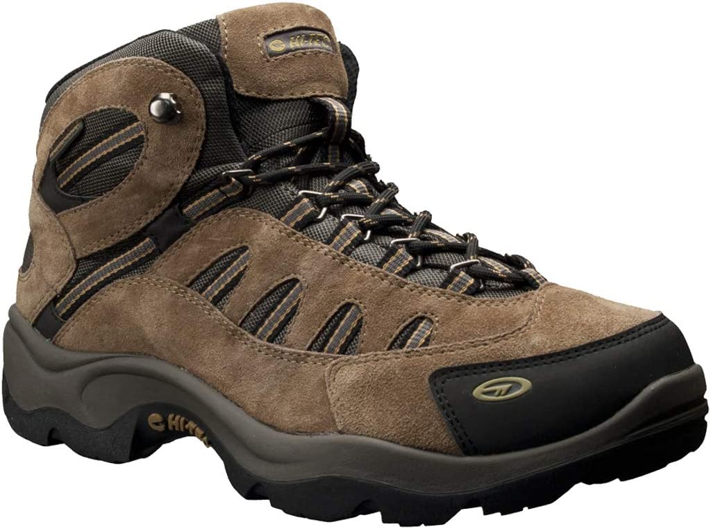 HI-TEC Defiance MID WP/  Bone//Brown//Mustard 100M
