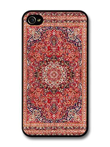 Retro Vintage Carpet Rug Magic Persian Inspired case for iPhone 4 4S