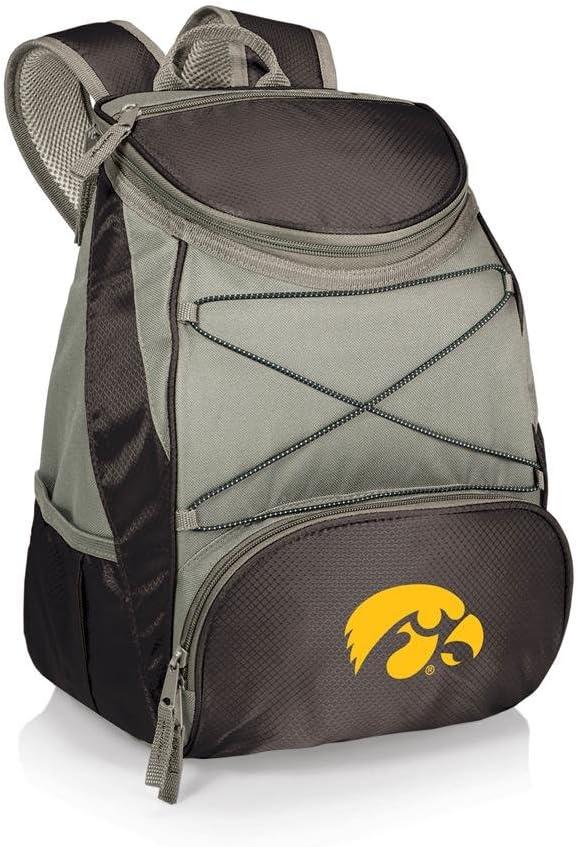 NCAA Iowa Hawkeyes PTX Insulated Backpack Cooler Black