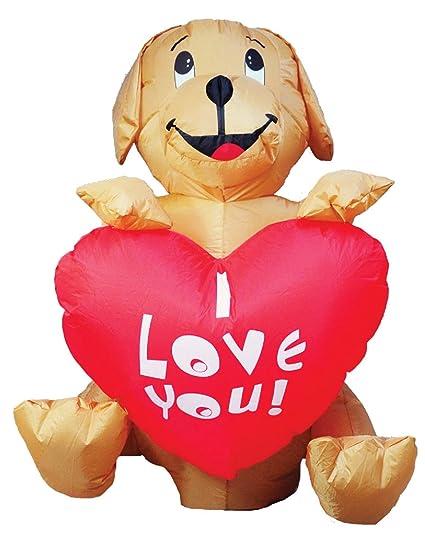 Amazon.com: Ghi - Adorno hinchable para día de San Valentín ...
