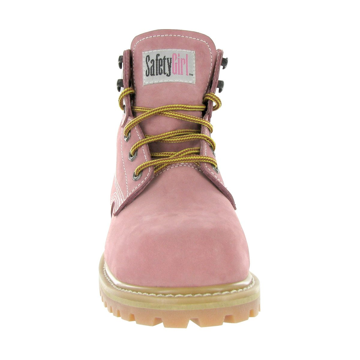 Amazon.com: Safety Girl GS003-Lt Pink-4.5M Steel Toe Work Boots - Light Pink - 4.5M, English, Capacity, Volume, Leather, 4.5M, Pink (): Industrial & ...