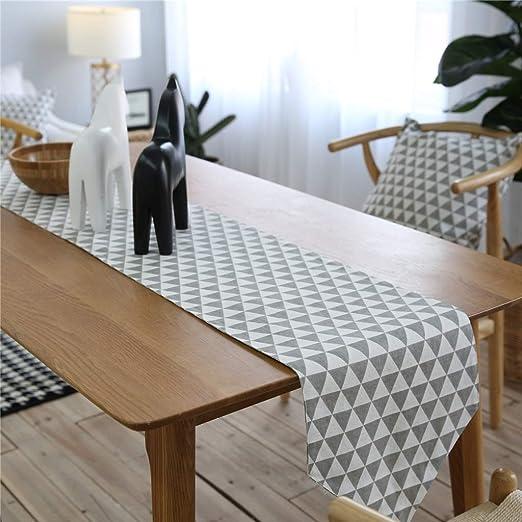 Corredores de Mesa Engrosamiento Gris Tapetes de Mesa Mesa de café ...