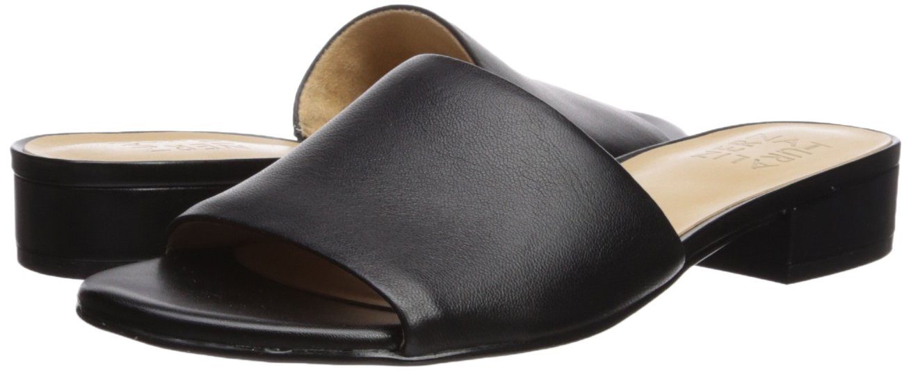 Naturalizer Women's Mason Slide Sandal B073X1RFB3 12 B(M) US|Black